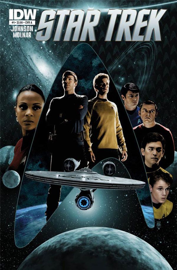 New Star Trek comic series from IDW
