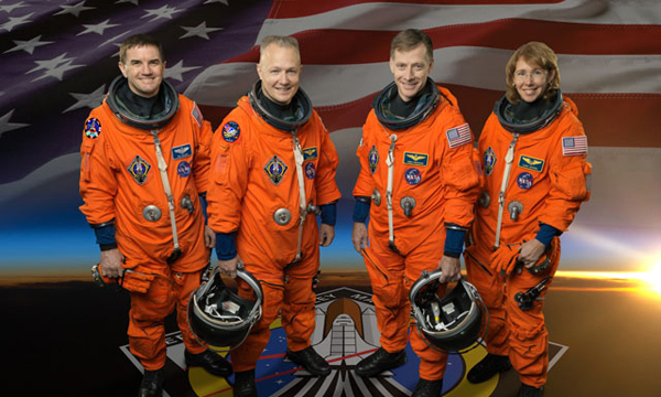 NASA STS-135 Atlantis Crew