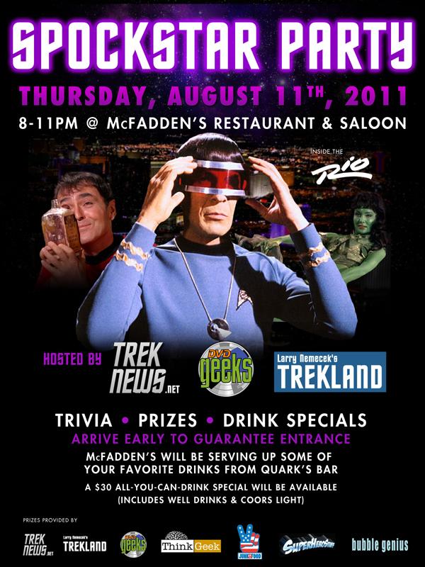 Spockstar Party 2011
