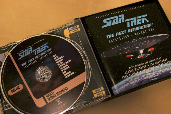 Star Trek: The Next Generation Music Collection interior