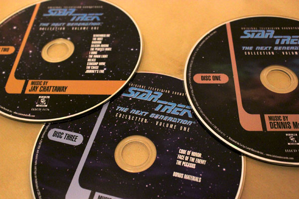 Star Trek: The Next Generation Music Collection CDs