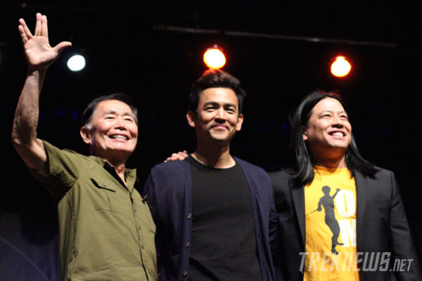 George Takei, John Cho & Garrett Wang