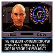 SEGA Game Gear's Star Trek: TNG