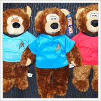 Star Trek Teddy Bears