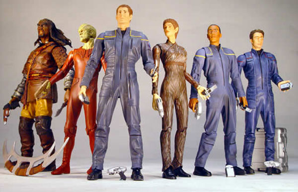 Image result for star trek enterprise action figures