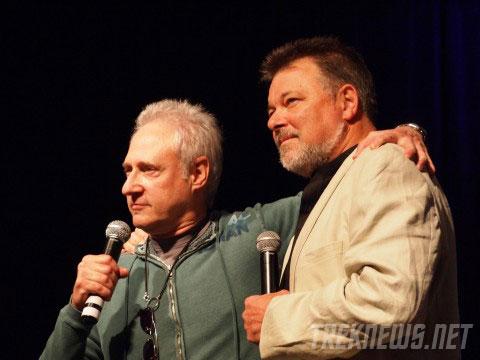 Brent Spiner & Jonathan Frakes