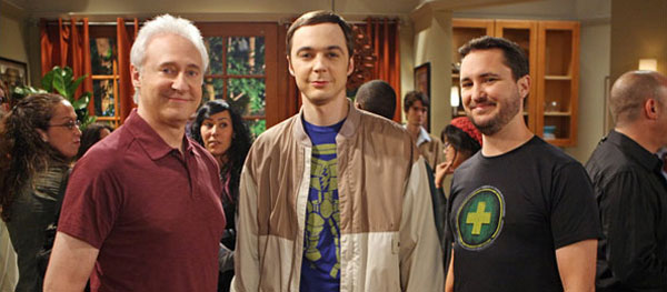 Brent Spiner & Wil Wheaton on Big Bang Theory