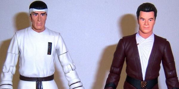 Spock & Kirk Star Trek IV figures