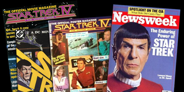 Star Trek IV Magazines & Comics