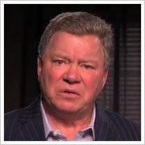 William Shatner on Jimmy Kimmel Live for National UnFriend Day