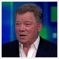 William Shatner on Piers Morgan Tonight