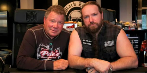 William Shatner with Zakk Wylde