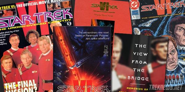 Star Trek VI print collectibles