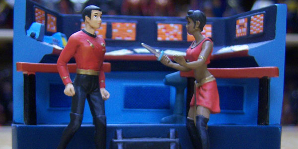 Uhura Bradford Exchange