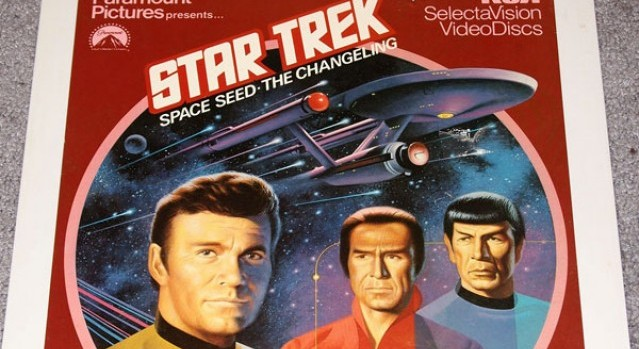 Star Trek CED Cover