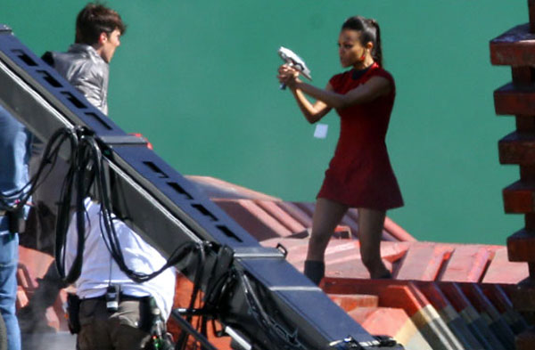 Star Trek 2 with Zoe Saldana