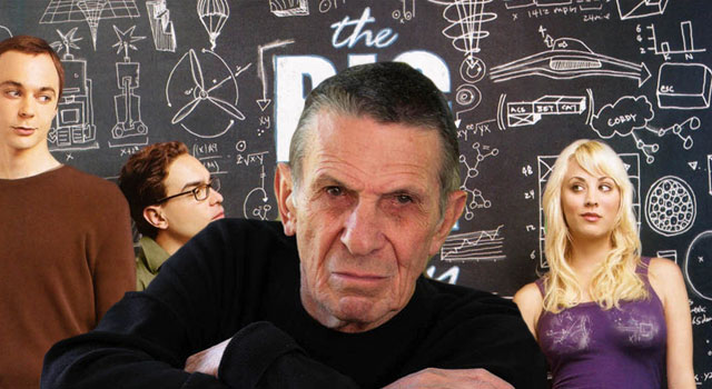 Leonard Nimoy to Cameo on 'Big Bang Theory'