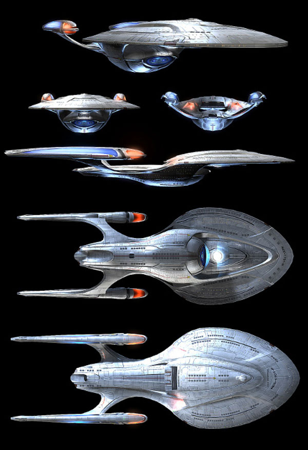 Starship Enterprise-F