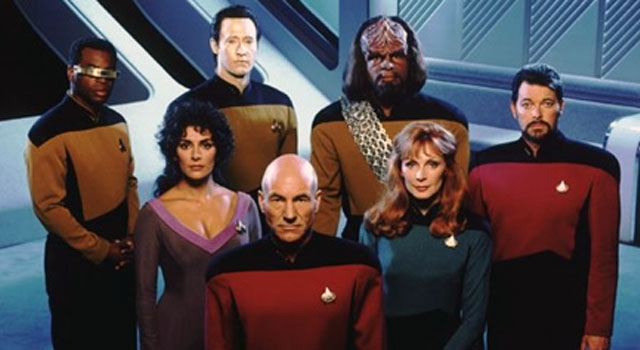 Cast of Star Trek: The Next generation