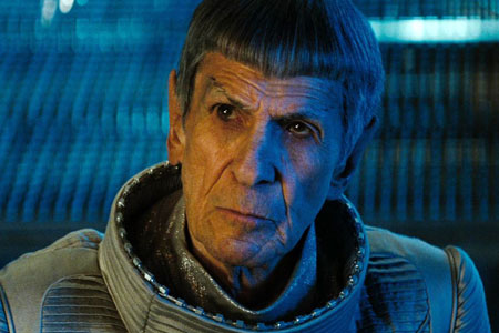 Leonard Nimoy as Spock in Star Trek (2009)