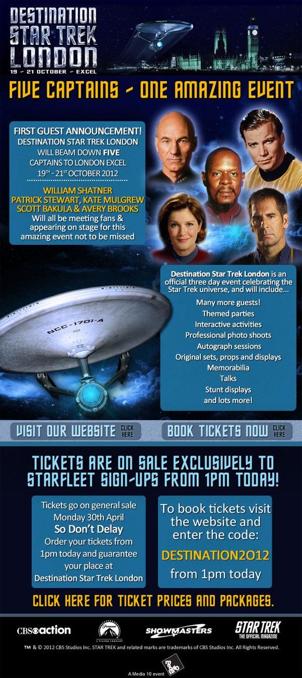 Destination Star Trek London
