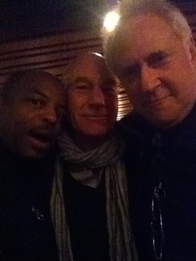 LeVar Burton, Patrick Stewart and Brent Spiner at the Calgary Expo