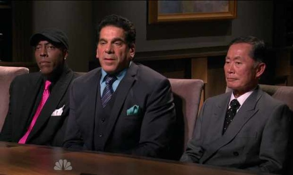 "Arsenio Hall, Lou Ferigno and Takei on NBC's ""Celebrity Apprentice"""