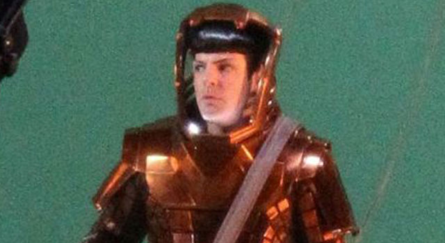 PICS: More Leaked Photos of Zachary Quinto as Spock on the Set of Star Trek 2
