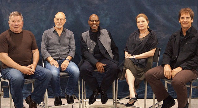 All Five Star Trek Captains Come Together at Philly Comic Con