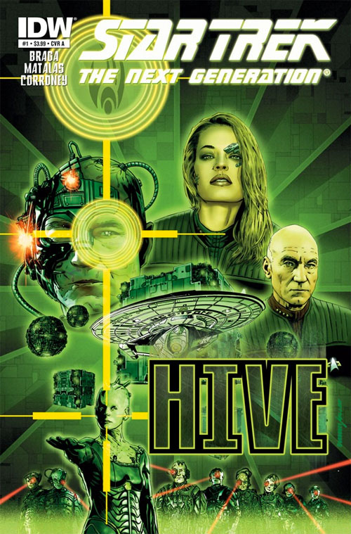 Star Trek: The Next Generation: Hive #1 cover