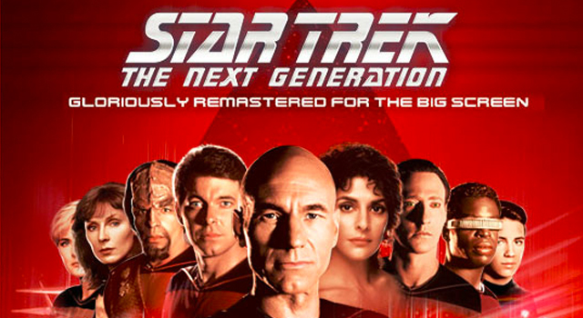 Star Trek: TNG Special Theater Event Poster Revealed + Theaters Announced