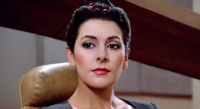 Reserve, neither Marina sirtis star trek