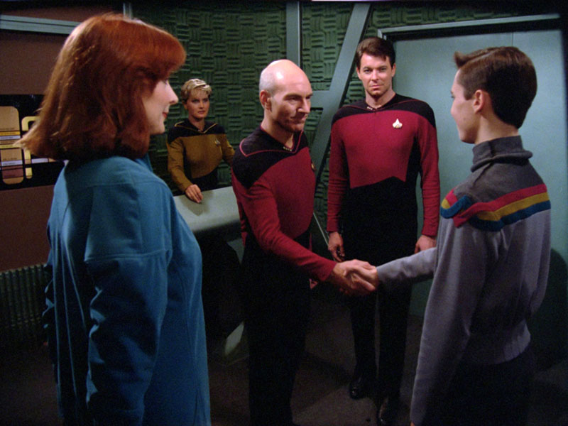 Star Trek: The Next Generation Season 1 on Blu-ray Review