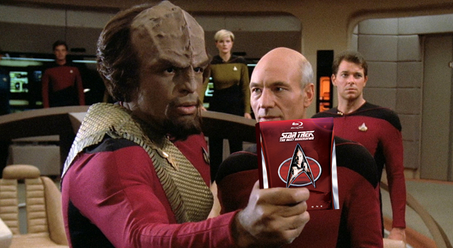 Star Trek: TNG Season 1 Remastered on Blu-ray Available Today