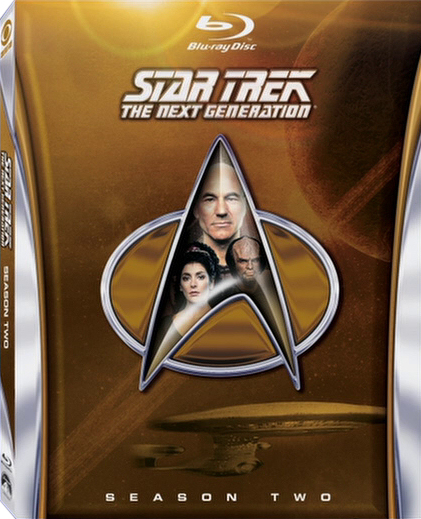 Star Trek: The Next Generation, Season 2 Cover Art