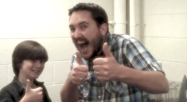 "WATCH: Wil Wheaton Spoofs ""The Walking Dead"""