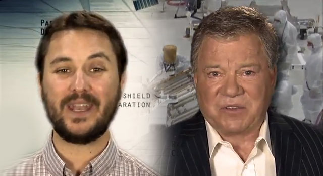 WATCH: William Shatner &amp; Wil Wheaton Narrate Mars Rover Video