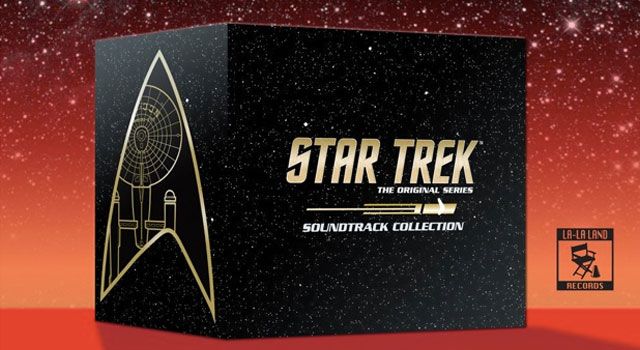 15-Disc Star Trek: TOS Music Collection Coming This Fall from La-La Land Records