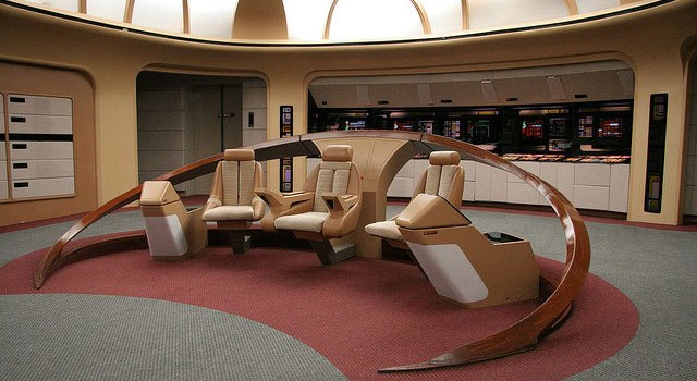 Star Trek Fan to Restore Original Enterprise-D Bridge Set