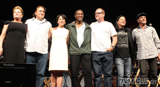 STLV 2012: 'Star Trek: Voyager' Cast Reunion with Mulgrew, Beltran, Dawson, Russ, McNeill, Wang & Picardo