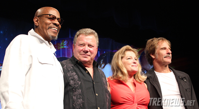 STLV 2012: Captains Panel with Shatner, Mulgrew, Brooks & Bakula