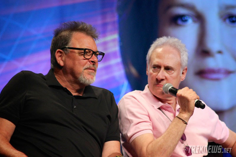 Jonathan Frakes and Brent Spiner
