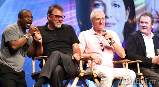 STLV 2012: 'Star Trek: The Next Generation' Cast Reunion with Frakes, Spiner, Burton, Dorn, Sirtis, McFadden & Meaney