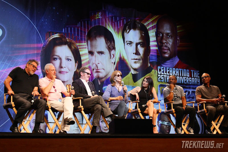 TNG reunion panel from STLV 2012