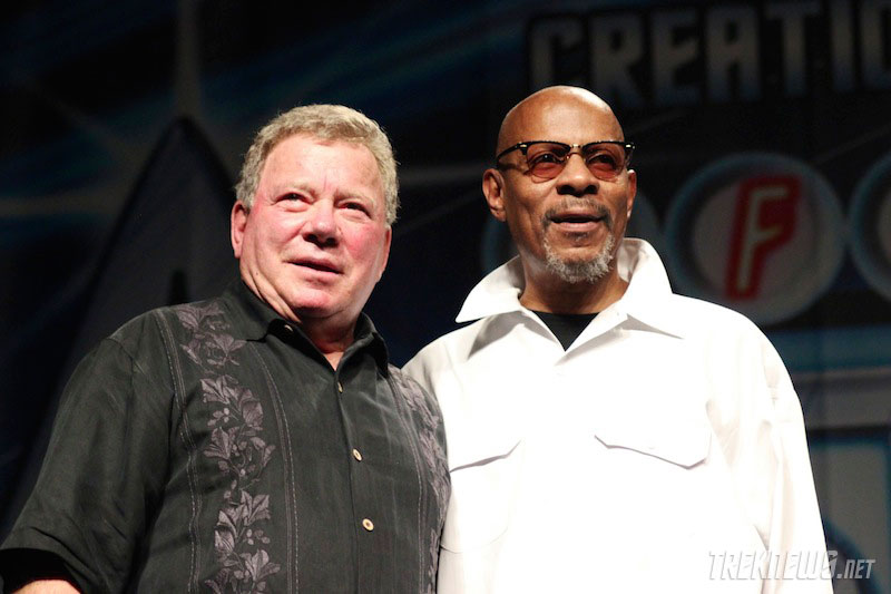 William Shatner and Avery Brooks