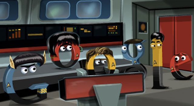 Google Doodle Celebrates Star Trek's 46th Anniversary