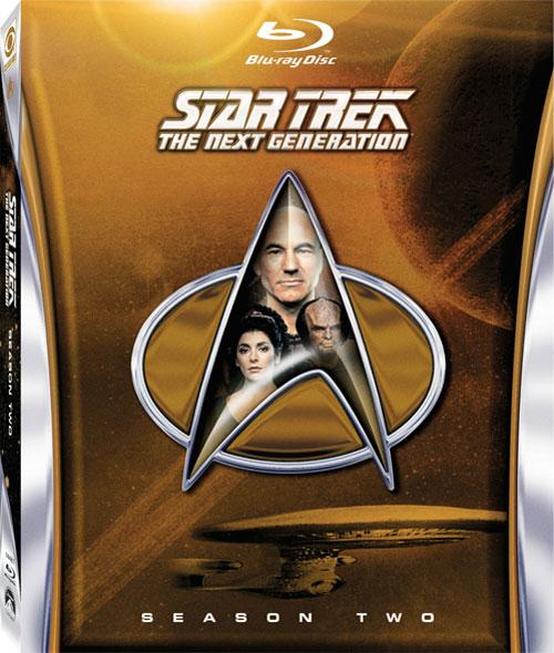 Star Trek: TNG Blu-ray, Season 2 cover art