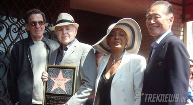 Walter Koenig Receives His Star on the Hollywood Walk of Fame + Exclusive Photos