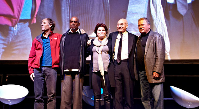 Five Star Trek Captains Come Together at Destination: Star Trek London