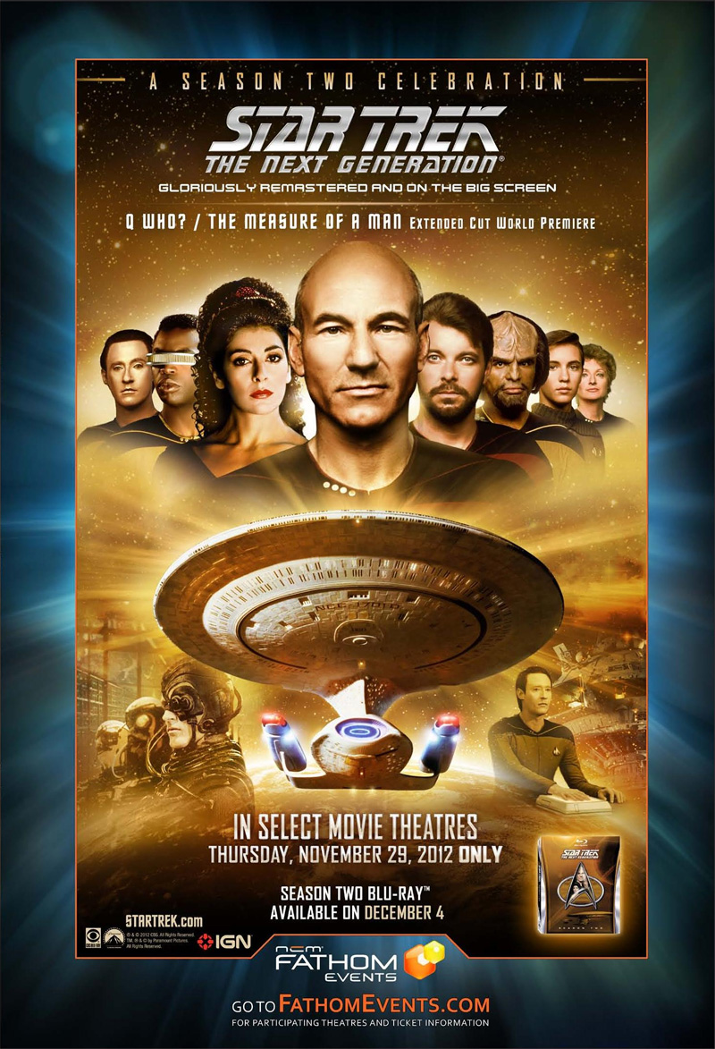 Star Trek TNG Season 2 Theater Event Poster